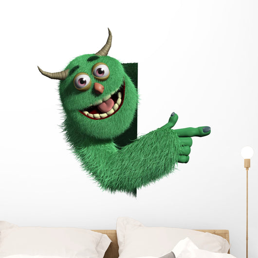 Monster Wall Decal