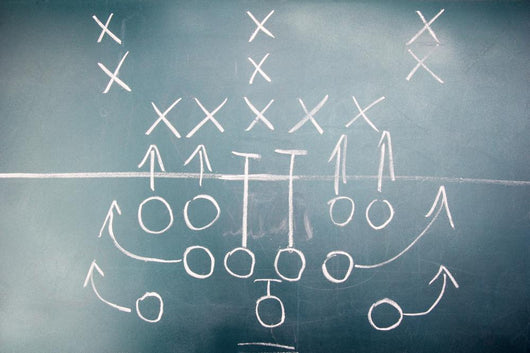 American Football Plan Blackboard