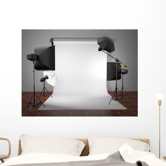 Photo Studio Equipment Space Wall Mural
