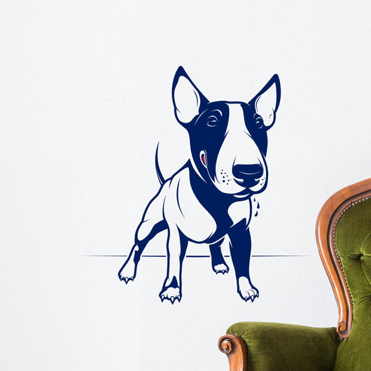 Bull Terrier Wall Decal
