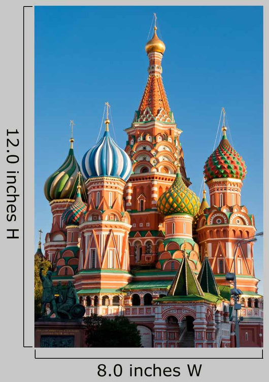 St Basil Cathedral Red