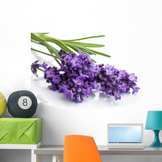 Lavender Flower Wall Decal