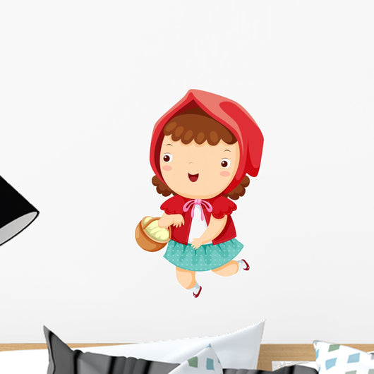Little Red Riding Hood Wall Decal