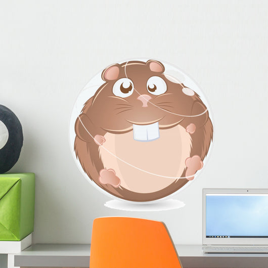 hamster Wall Decal