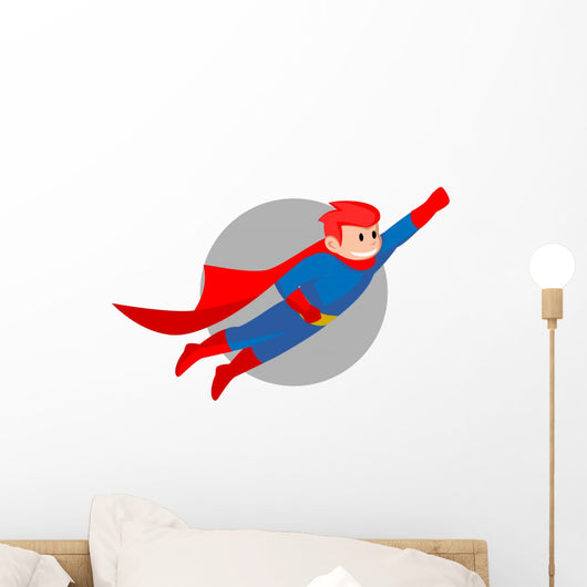Super Hero Wall Decal