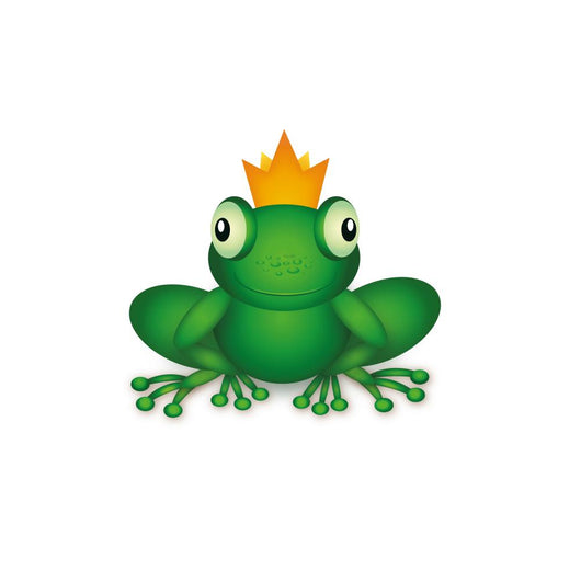 Frog King Wall Decal