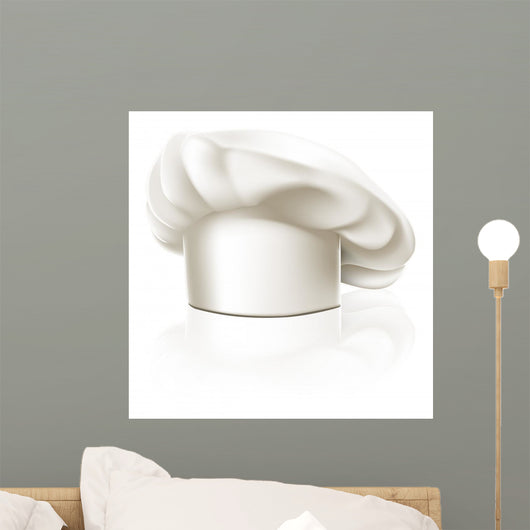 Chef hat illustration Wall Decal