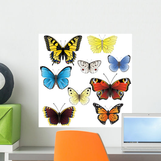 Butterfly set Wall Decal
