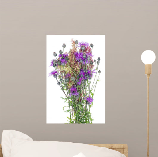 Thistle Wild Bunch Wall Decal
