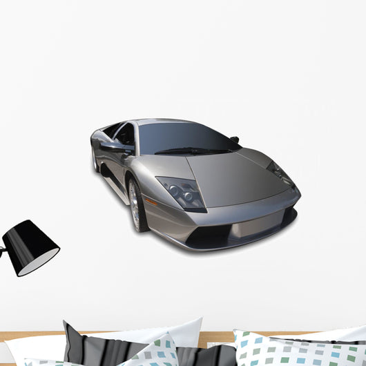Exotic Italian Sports Car Wall Decal