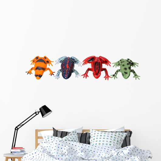 Frogs Wall Decal Sticker Set