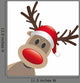 Rudolph Reindeer Red Nose