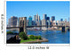 New York City Skyline and Brooklyn Bridge Wall Mural