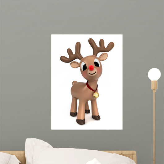 Christmas Reindeer Wall Decal