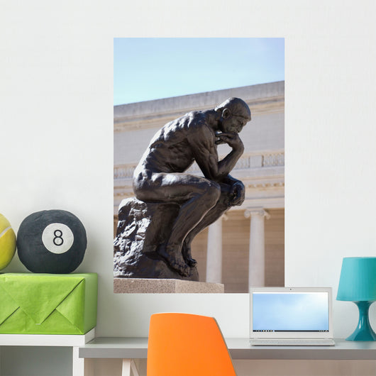 The Thinker by Rodin Wall Mural
