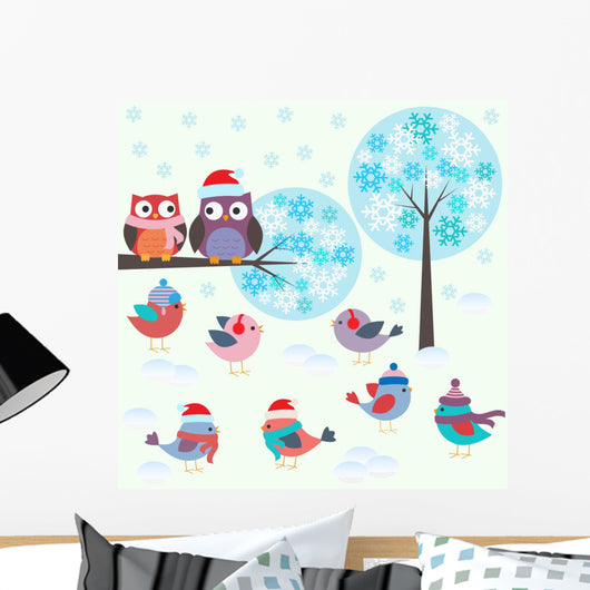 Birds and Owls Winter