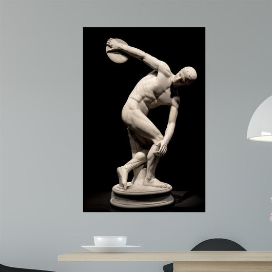 Ancient Statue Discus Thrower