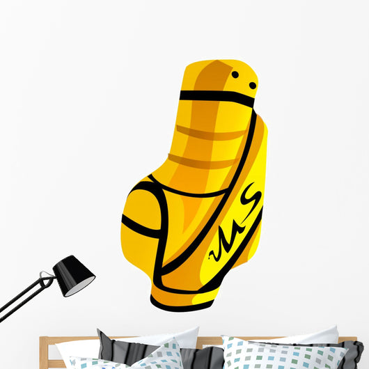 Icon Golf Bag Wall Mural