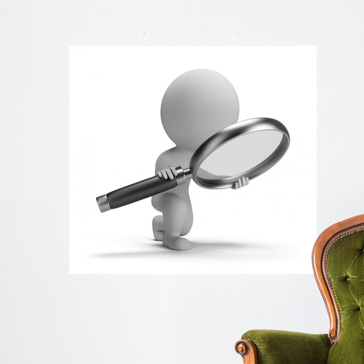 People Searching Wall Decal