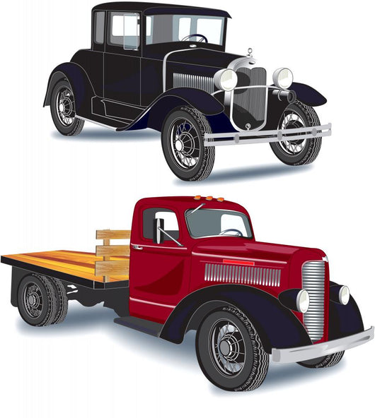 1930's Car and Truck