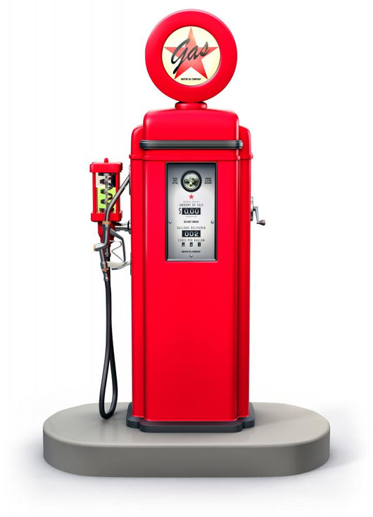 Old Gas Pump Wall Decal