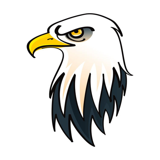 Head of the Bald Eagle - Symbol of the United States of America Wall Decal