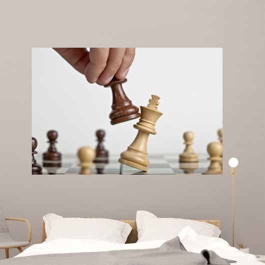 King Checkmate Wall Mural