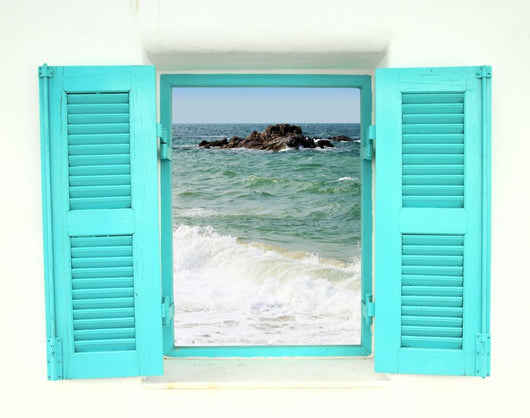 Greek Style Window with