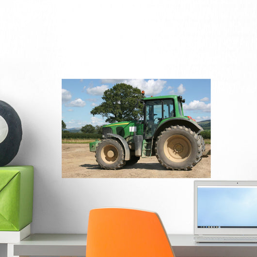 Four Wheel Drive Tractor Wall Mural
