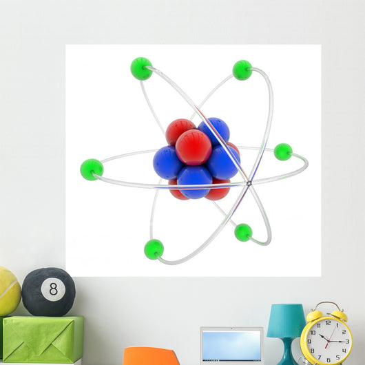 Atom Wall Decal