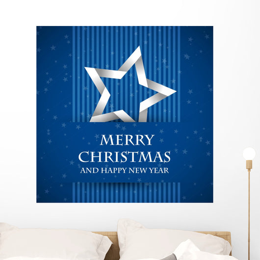 Blue Banned Christmas Card
