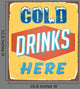 Vintage Tin Sign Vector
