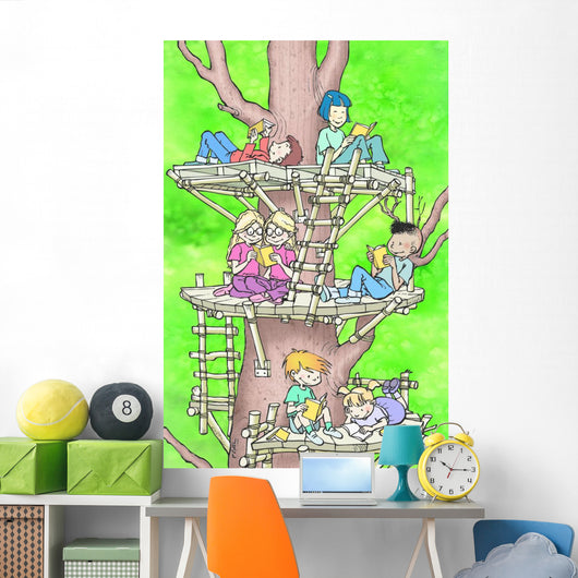 Play truant Wall Mural