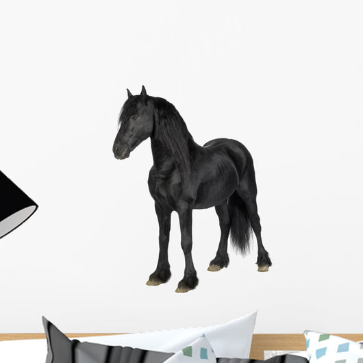 Friesian Horse Wall Decal