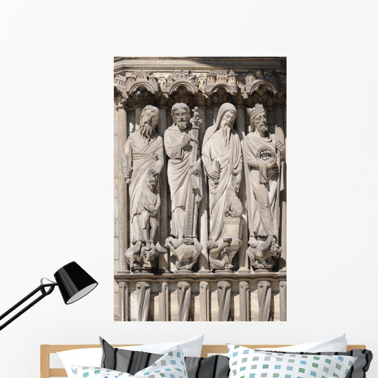 Cathedrale Laon Portail Wall Mural