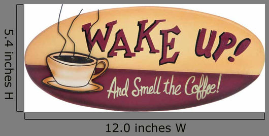 Coffee Sign Wall Decal