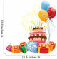 Birthday cake Wall Decal