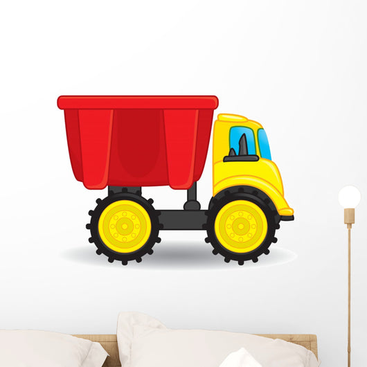 Colorful Dump Truck Toy