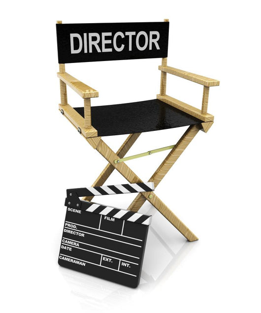 Director Chair and Clapboard