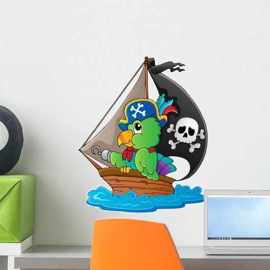 Image with Pirate Parrot
