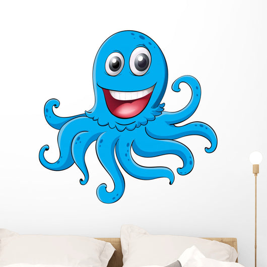 an octopus Wall Decal
