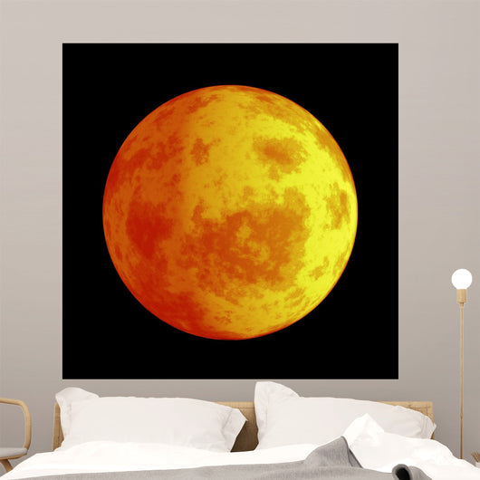 Eclipse Moon Wall Mural