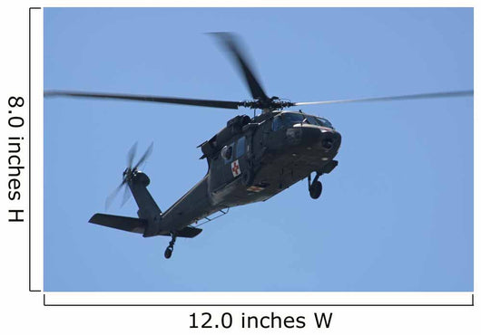 uh-60l black hawk helicopter Wall Mural