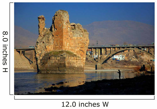 Hasankeyf Bridge Batman Turkey Wall Mural