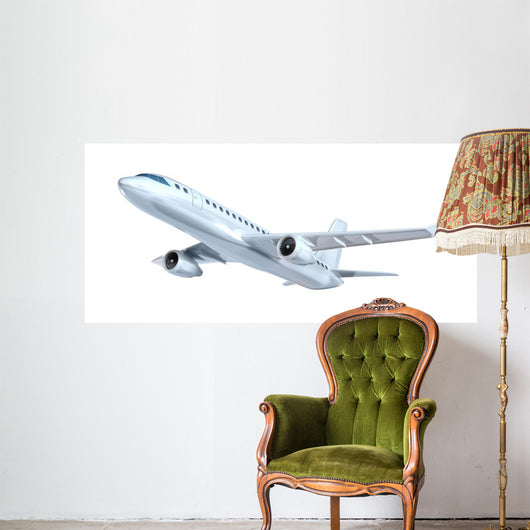 Commercial Airplane Wall Decal