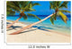 Tropical beach Wall Mural
