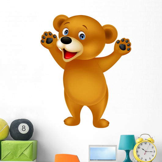 Funny Baby Brown Bear