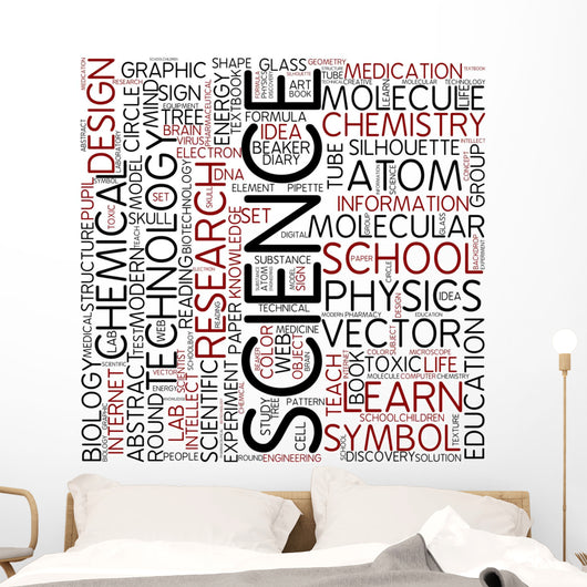 science Wall Mural