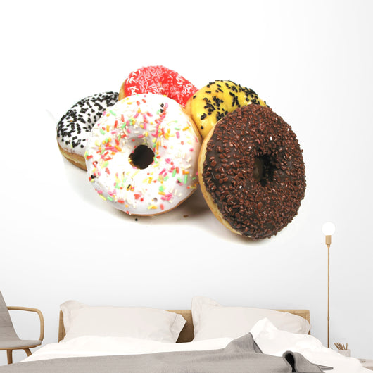 different donuts Wall Decal