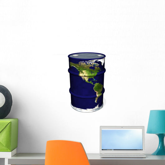 World Oil Wall Decal